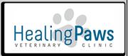 Ankeny Healing Paws Logo